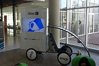 Digital Promobike with plasma TV