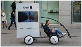 Digital promobikes a perfect tool for BTL and OOH media agencies