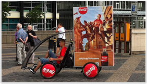 Promobikes a perfect tool for BTL and OOH media agencies