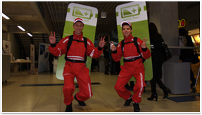 Walking billboards is flexible indoor and outdoor advertising tool, widely used for sampling and promotional campaigns